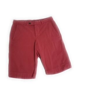 Brooks Brothers Casual Bermuda Shorts 32 Red